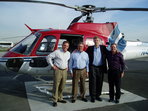 AStar helicopter charter flight