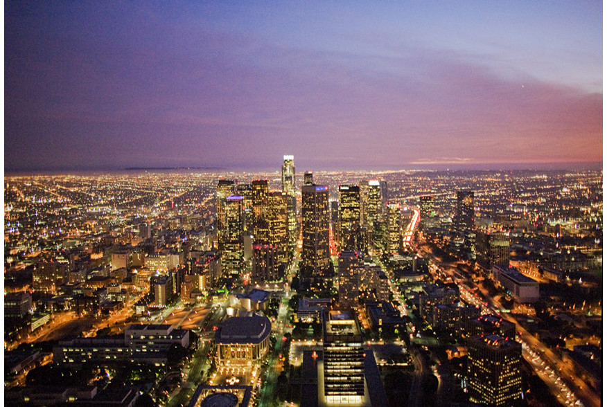 Los Angeles Helicopter Tour Night