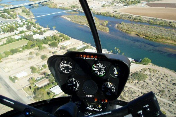 helicopter pilot instruction r22 flight